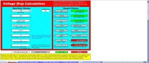 محاسبات کابل تاسیسات برق اکسل